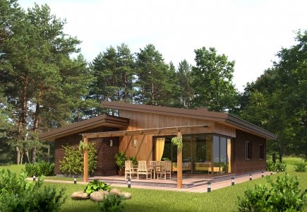 Single-storey house project Matas