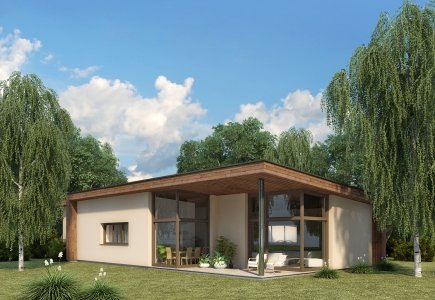 Single-storey house project Agnete