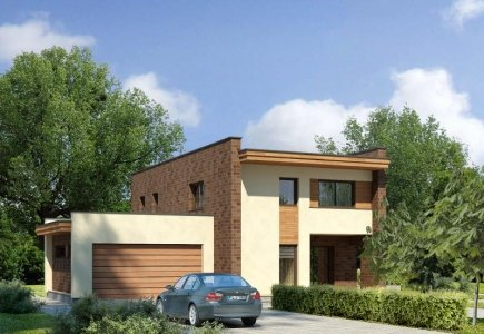 Two-storey house project Gracija