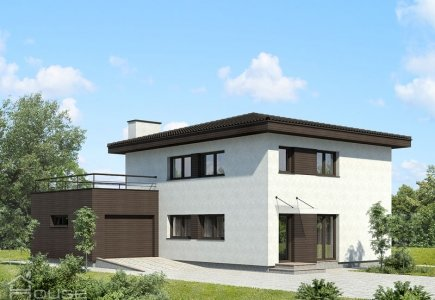 Two-storey house project Alma