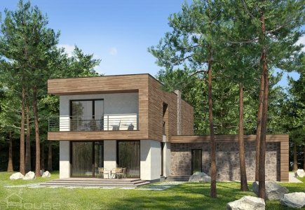 Two-storey house project Eduardas