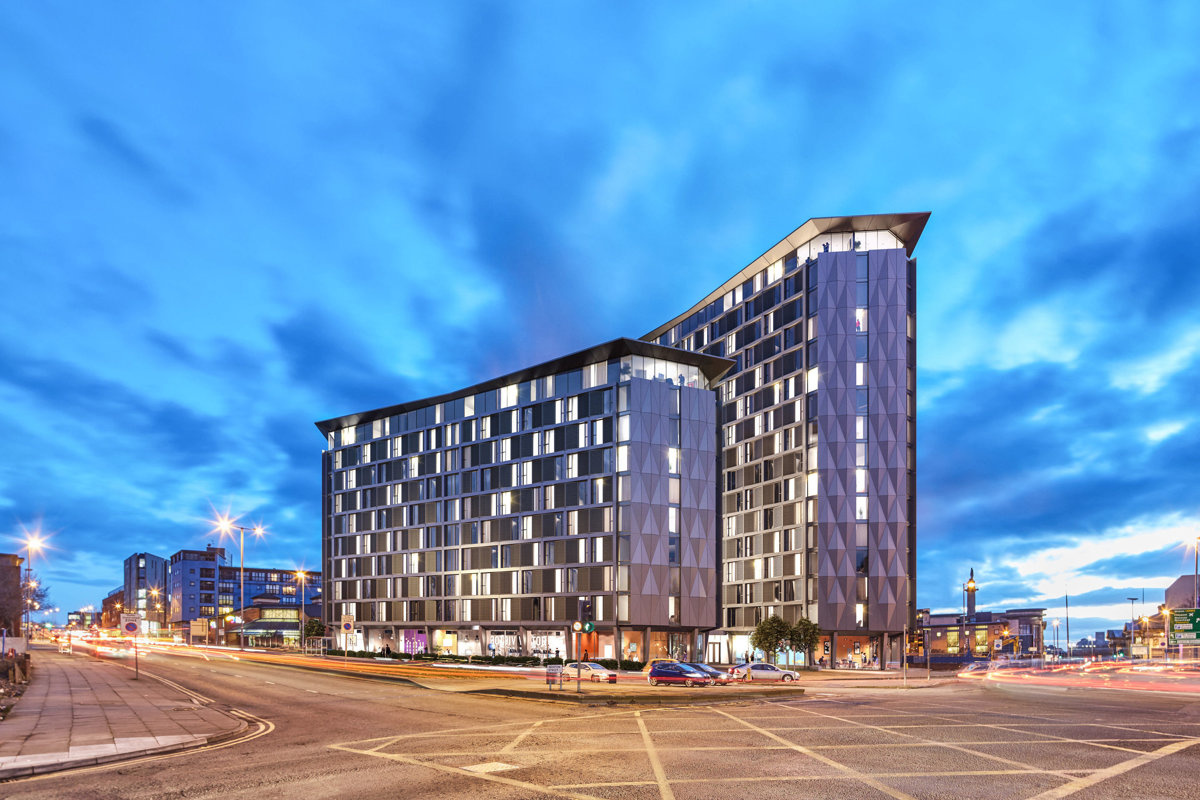 For sale profitable student accommodations Natex located in Liverpool, UK!