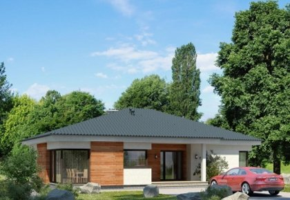 Single-storey house project Liucijus