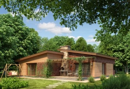 Single-storey house project Agnius