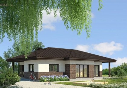 Single-storey house project Deividas