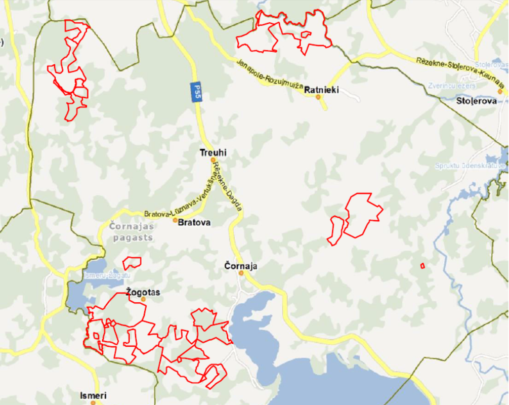 For sale 2048,67 ha of agricultural and forest land located in