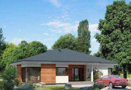 Single-storey house project Liucijus