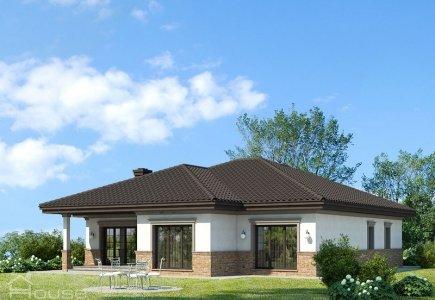 Single-storey house project Amanda