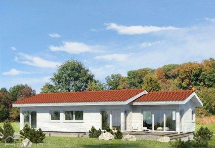 Single-storey house project Monika