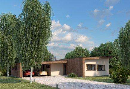 Single-storey house project Agnete
