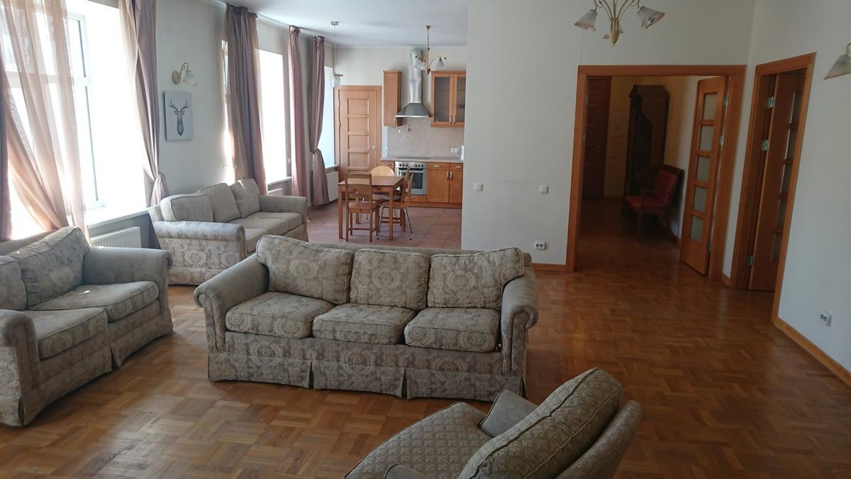For long-term rent apartment in Embassy District, Riga, Latvia!