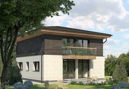 Two-storey house project Mantvydas