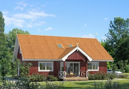 Single-storey house project Svenas