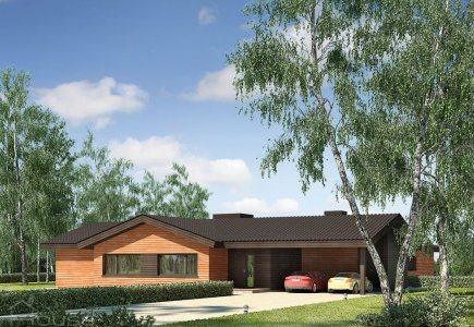 Single-storey house project Orinta