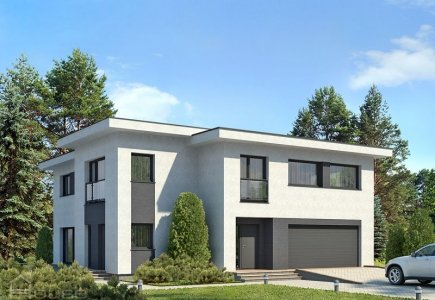 Two-storey house project Dominykas