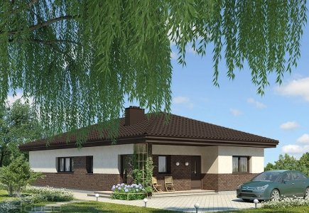 Single-storey house project Deividas