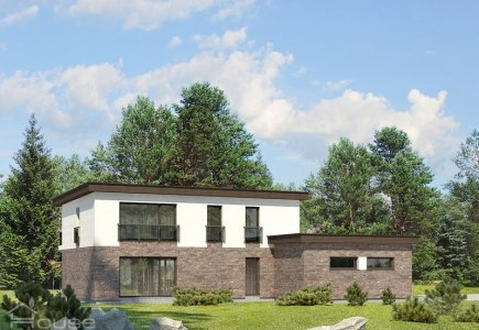 Two-storey house project Mikas
