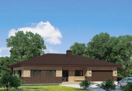 Single-storey house project Saulius