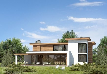 Two-storey house project Gerardas