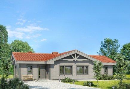 Single-storey house project Benas