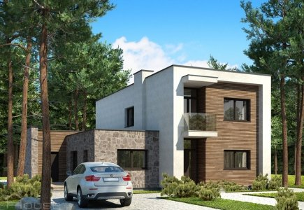 Two-storey house project Augustinas