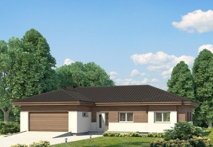 Single-storey house project Ernesta