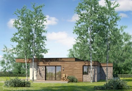 Single-storey house project Grigas