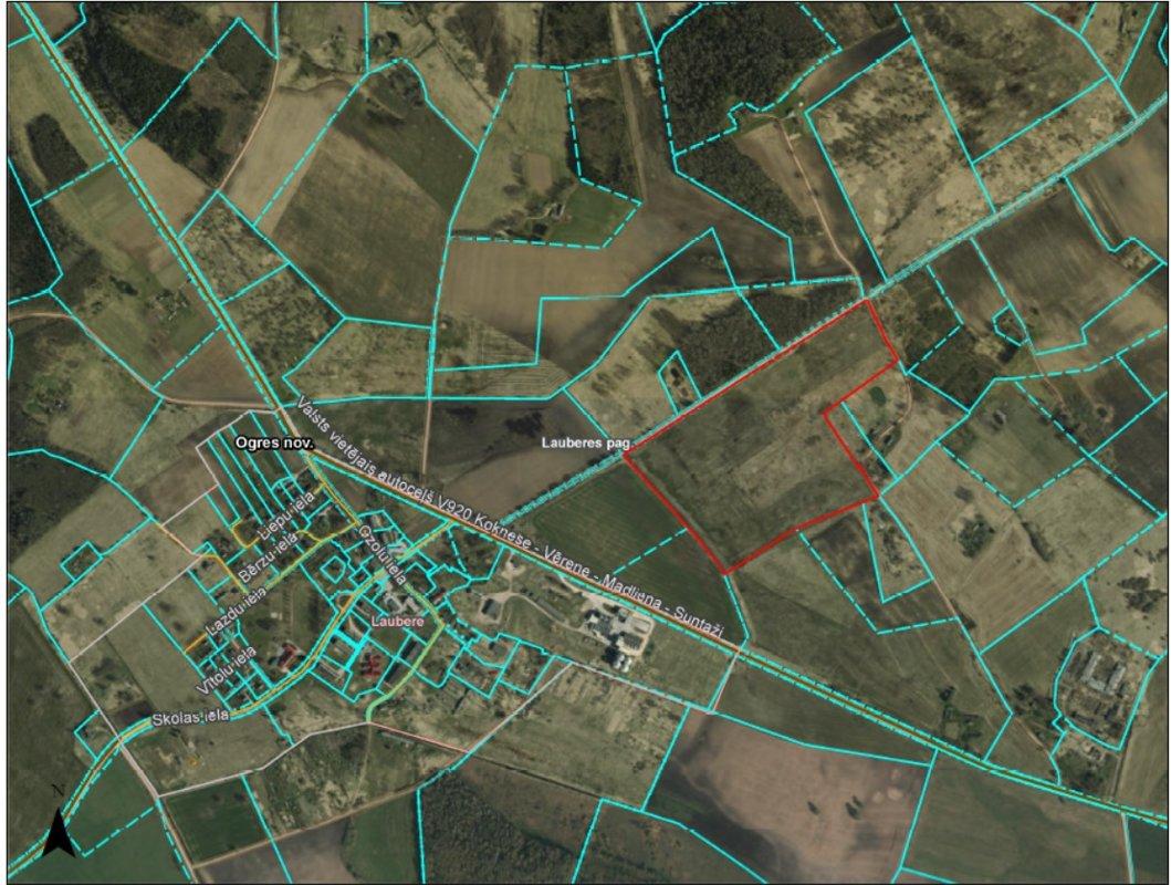 For sale 46.43 ha in Ogres region, Latvia!