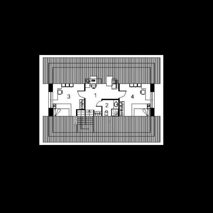 Single-storey house project Svenas