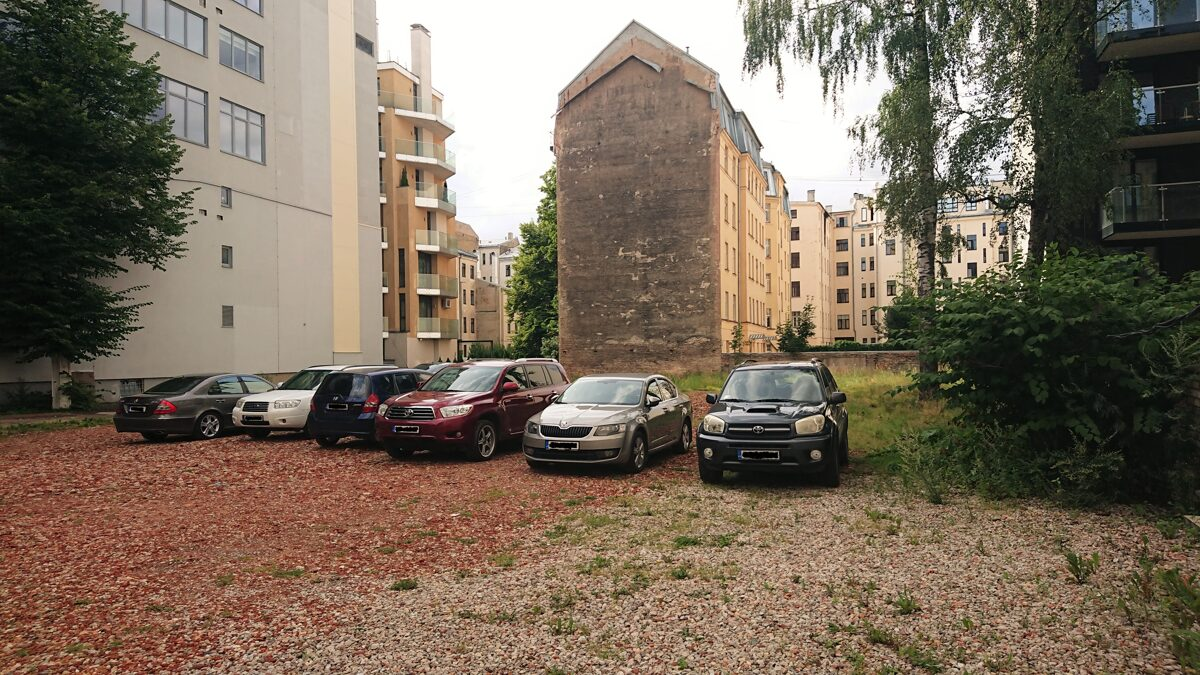 For sale mixed use development land in Embassy district, Riga!