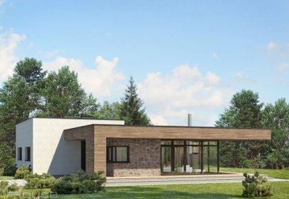 Single-storey house project Lidija