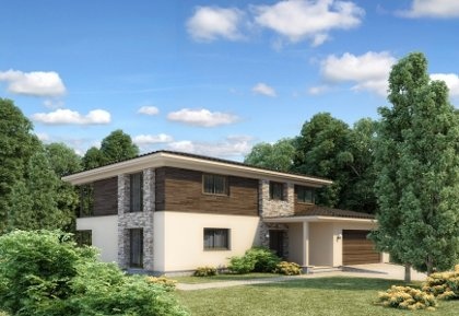 Two-storey house project Pijus