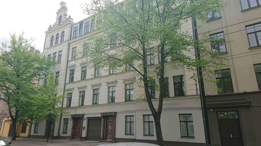 Tiek iznomāta ēka Rīgas centrā!